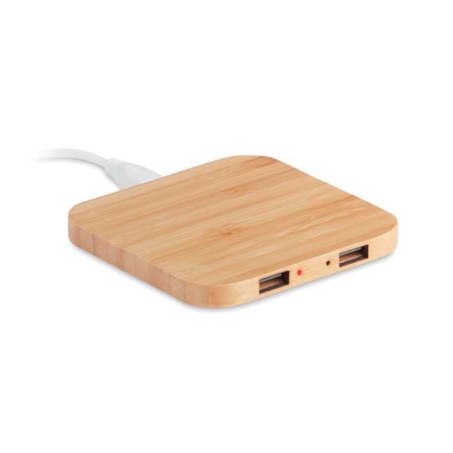 Imprimare Încărcător wireless din bambus