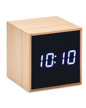 Imprimare Ceas deșteptător LED în bambus