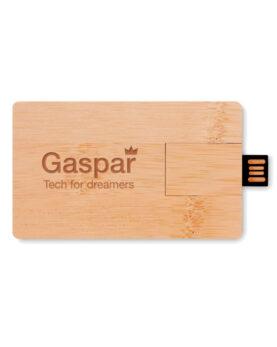 Personalizare USB 16GB în carcasă de bambus  MO1203-40