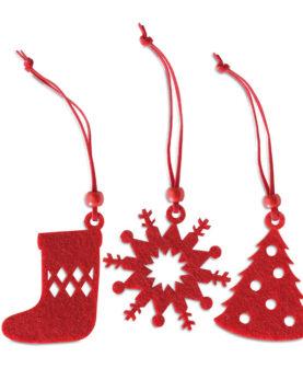 12 buc. ornamente pentru agăţa personalizate