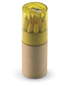 Personalizare 12 creioane colorate în tub