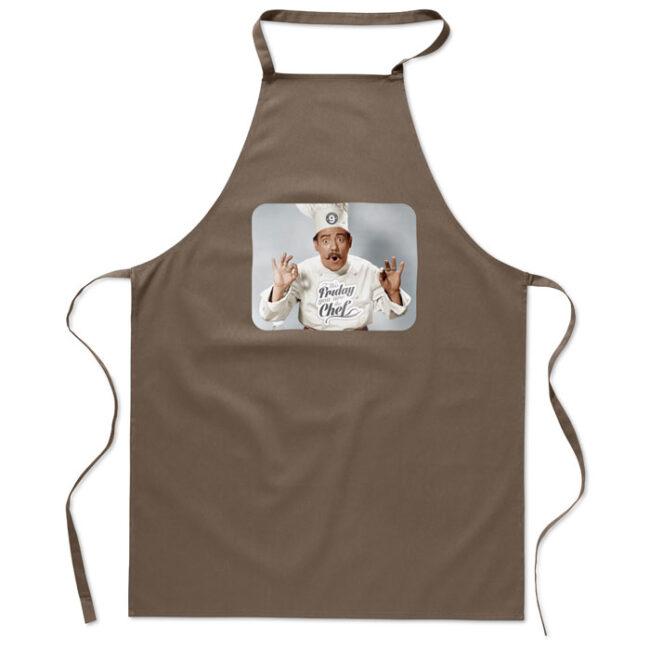 Şorţ bucătărie bumbac inscriptionate