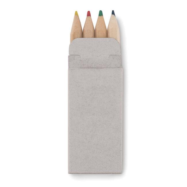 4 mini-creioane colorate personalizate