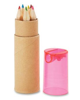 6 creioane în tub personalizate