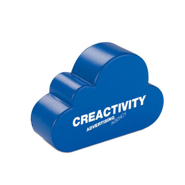 Anti-stress în formă de nor imprimate