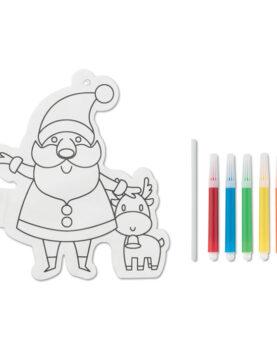 Balon colorat Moș Crăciun personalizate