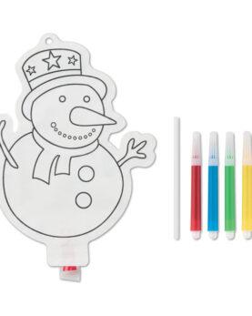 Personalizare Balon colorat fulg de zăpadă