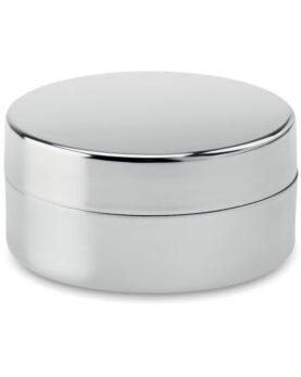 Balsam buze în cutie argintie personalizate