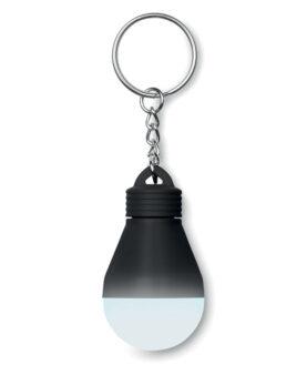 Bec cu lumină și breloc personalizate