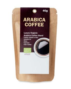 Personalizare Cafea organică Arabica de 40 g