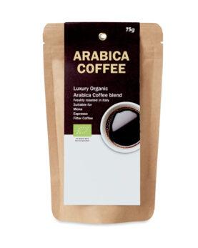 Personalizare Cafea organică Arabica de 75 g