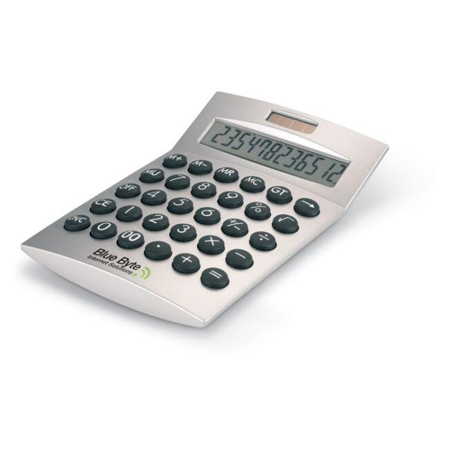 Calculator solar 12 cifre personalizate