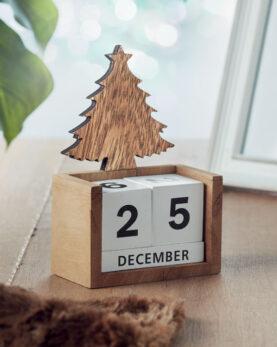Calendar de masă de Crăciun personalizate