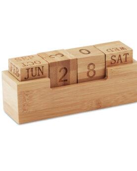 Personalizare Calendar din bambus
