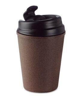 Cană cu perete dublu cafea/PP personalizate