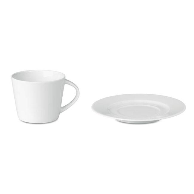 Cappuccino ceasca si farfurie personalizate