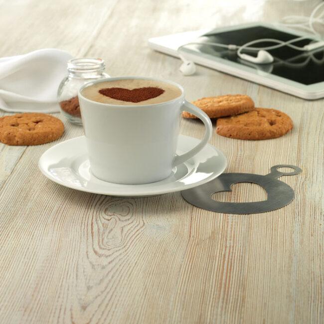 Cappuccino ceasca si farfurie inscriptionate