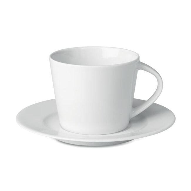 Personalizare Cappuccino ceasca si farfurie