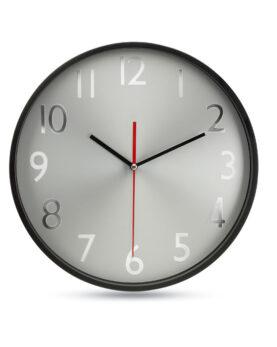 Personalizare Ceas de perete fundal argintiu