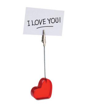 Clemă inimă personalizate