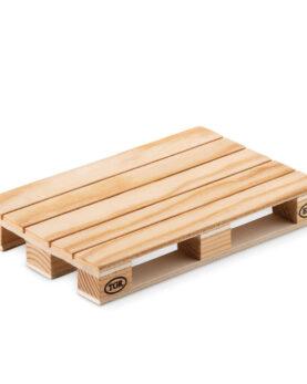 Coaster lemn în formă de palet personalizate