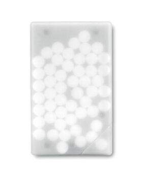 Cutie cu dropsuri de mentă personalizate