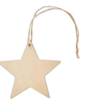 Decorație în formă de stea personalizate