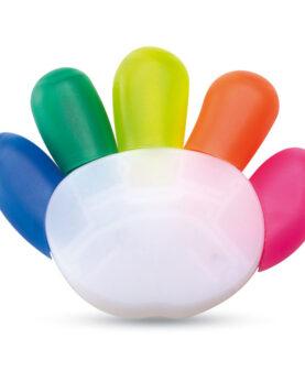 Personalizare Evidențiator în 5 culori