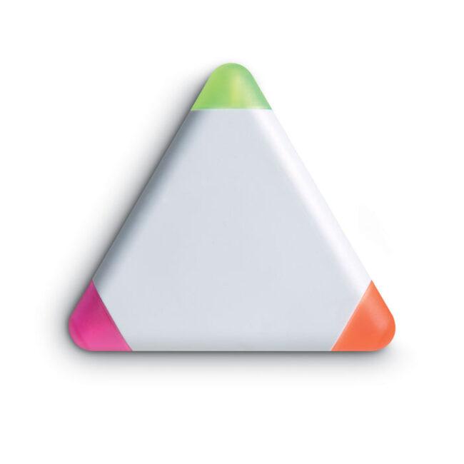 Evidențiator triunghiular imprimate