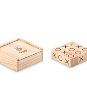 Joc Tic Tac Toe din lemn personalizate