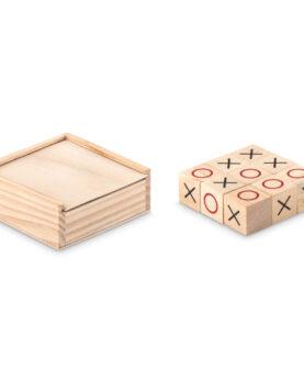 Personalizare Joc Tic Tac Toe din lemn