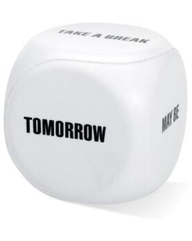 Jucărie anti-stres 'zaruri' personalizate