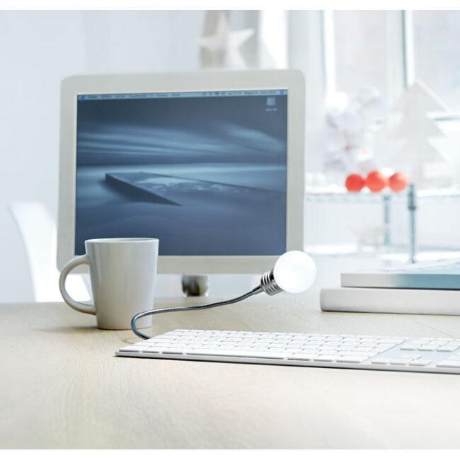 Lampă USB (formă bec) personalizate