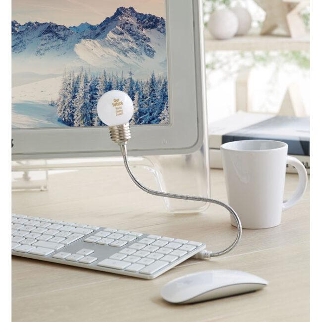 Lampă USB (formă bec) imprimate