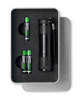Personalizare Lanternă cu LED in cutie metal