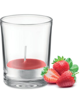 Personalizare Lumânare aromatizată în sticlă