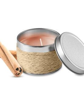 Lumânare parfumata în cutie personalizate