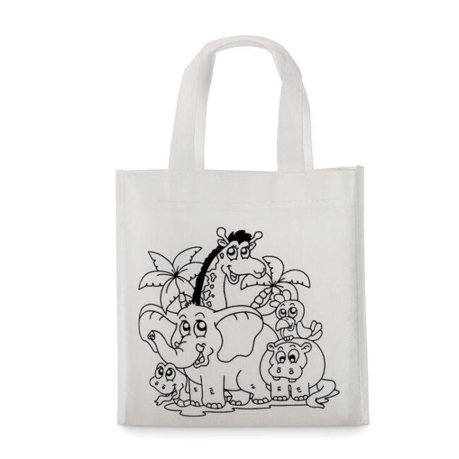 Mini-geantă cumpărături inscriptionate