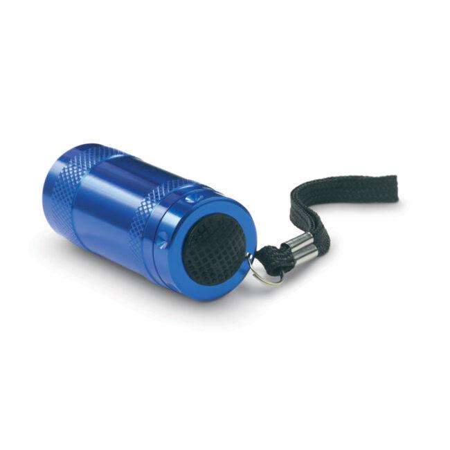 Mini-lanternă aluminiu+lanyard imprimate