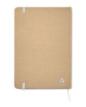 Notes A5 din carton reciclat personalizate
