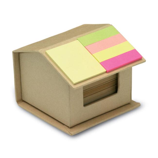 Notițe reciclate colorate personalizate