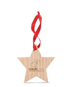 Ornament în formă de stea personalizate