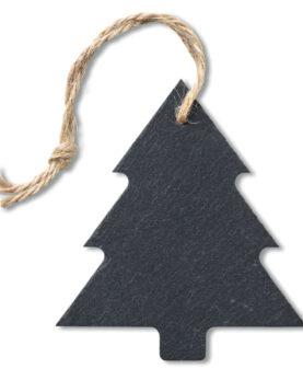 Personalizare Ornament brad din ardezie