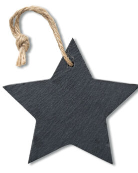 Personalizare Ornament stea din ardezie