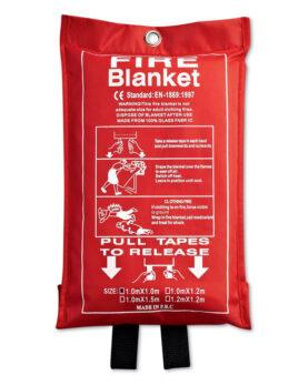 Pătură de incendiu în husă PVC personalizate