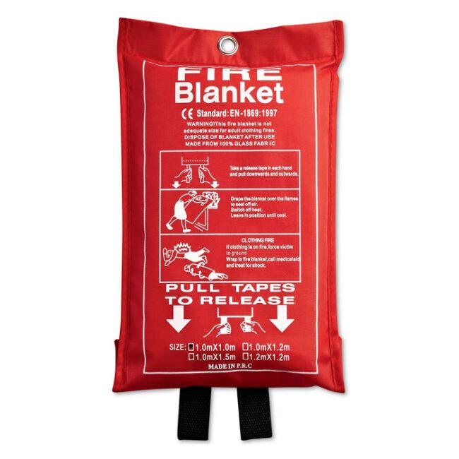 Personalizare Pătură de incendiu în husă PVC