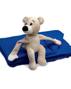 Pătură polar cu ursuleț personalizate