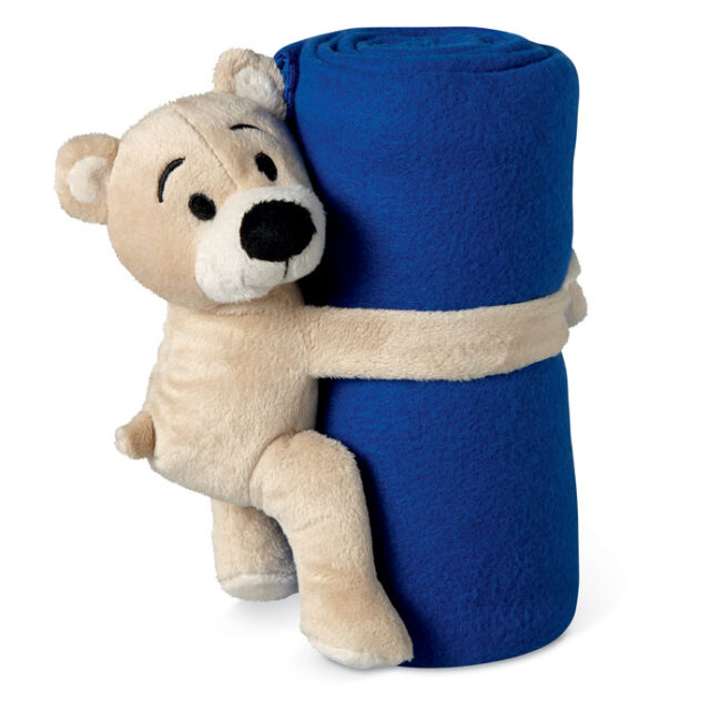 Personalizare Pătură polar cu ursuleț