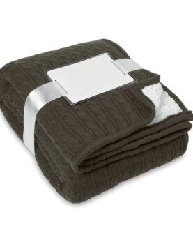 Păturică acryl/sherpa personalizate