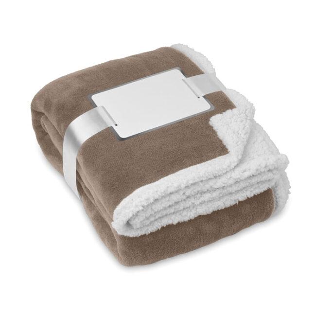 Păturică polar/sherpa personalizate